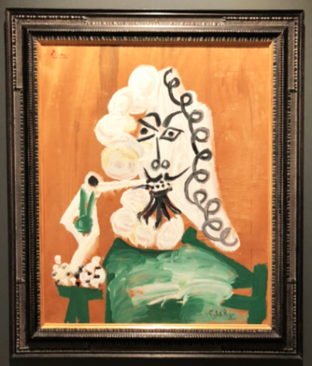 Pablo Picasso at Mazzoleni, via Art Observed