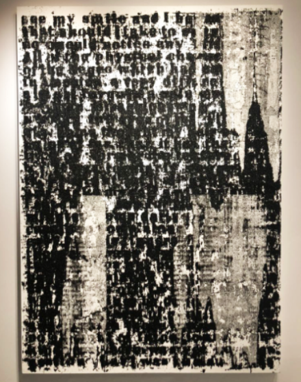 Glenn Ligon at Luhring Augustine, via Art Observed