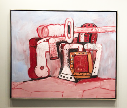 Philip Guston at Hauser & Wirth, via Art Observed