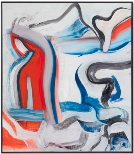 Willem de Kooning, Untitled XIX (1982), via Christie's