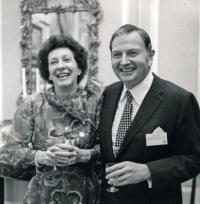 David and Peggy Rockefeller, via Art Newspaper
