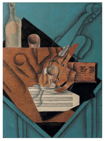 Juan Gris, La Table de Musicien (1914), Price 31,812,500, via Christie's