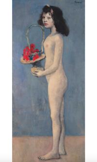 Pablo Picasso, Fillette a la corbeille fleurie (1905), price 115,000,000, via Christie's