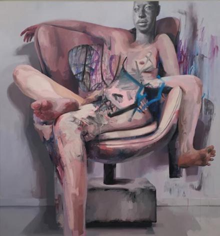 Jenny Saville at Gagosian, via Josie Berman for Art Observed
