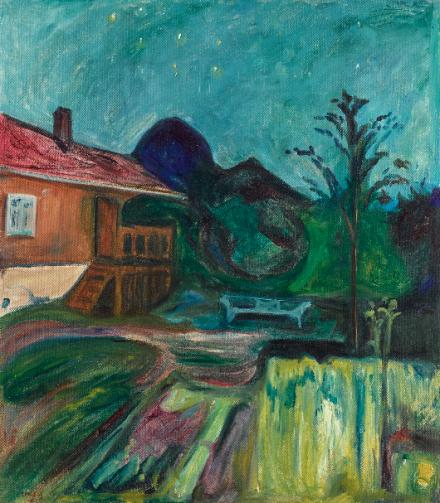 Edvard Munch, Summer Night (1902), price $11,292,200,via Sothebys