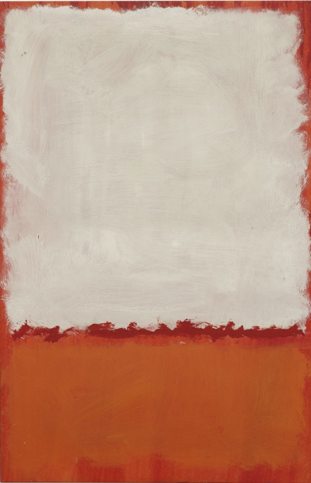 Mark Rothko, Untitled (1969), via Sothebys