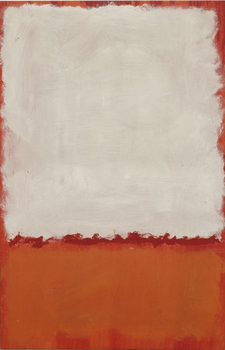 Mark Rothko, Untitled (1969), via Sothebys