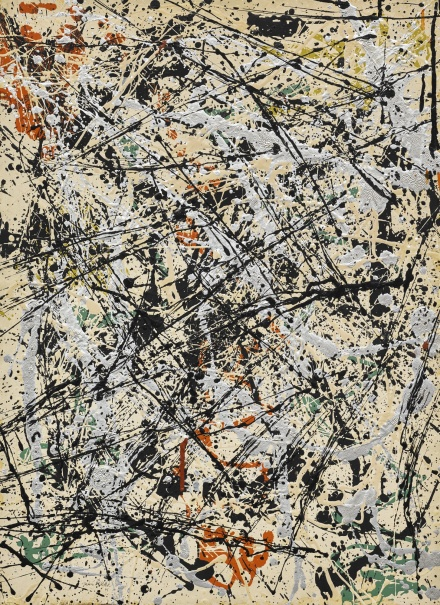 Jackson Pollock, Number 32 (1949), via Sotheby's