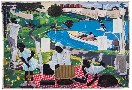 Kerry Marshall, Past Times (1997), via Sothebys