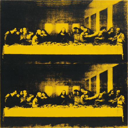 Andy Warhol, Last Supper (1986), via Phillips