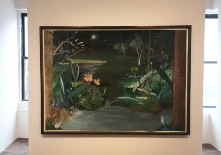 Mark Van Yetter (Installation View), via Art Observed