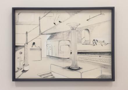 Mark Van Yetter (Installation View), via Art Observed.