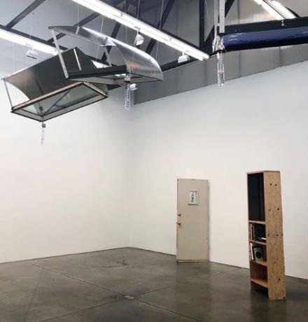 Oscar Tuazon, (Installation View), via Art Observed
