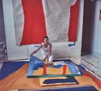 Helen Frankenthaler, via WSJ