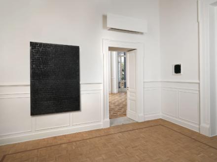 Glenn Ligon, In Poetry, A Solution to Everything (Installation View), via Thomas Dane