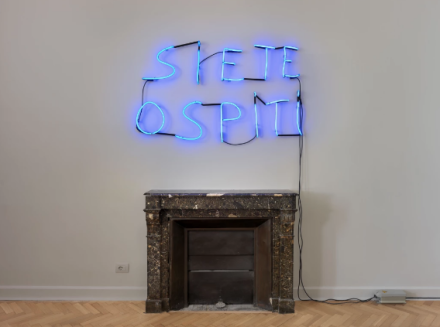 Glenn Ligon, In Poetry, A Solution to Everything (Installation View), via Thomas Dane