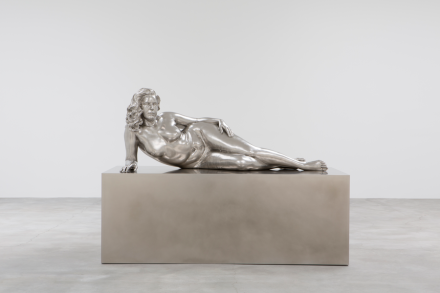 Charles Ray, Reclining Woman (2018), via Matthew Marks