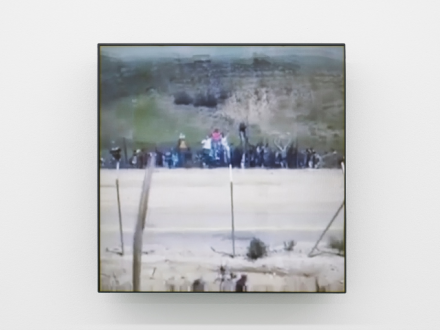 Lawrence Abu Hamdan, This whole time there were no land mines (2017), via mor charpentier