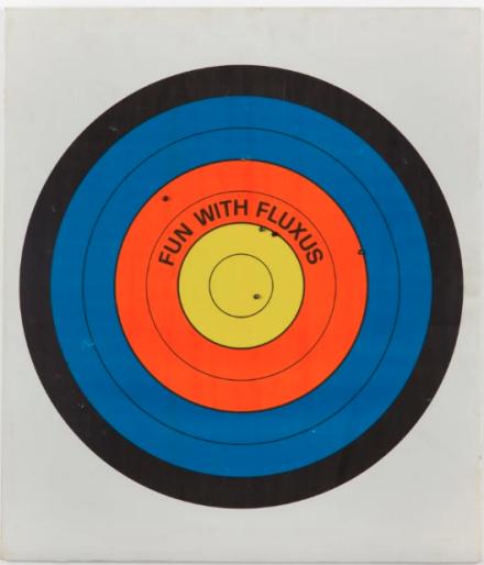 John Giorno and Robert Watts, Fun with Fluxus (1984-1988), via Supportico Lopez