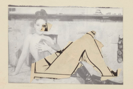 John Stezaker, Untitled (1977), via The Approach