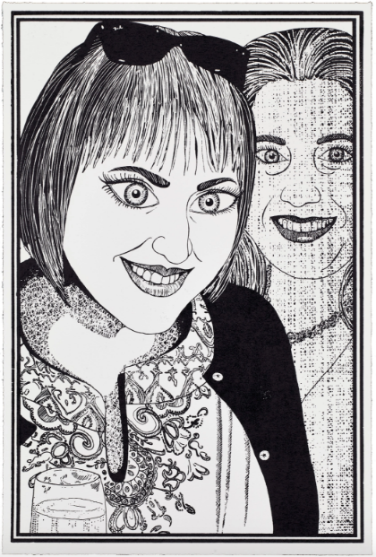 Grayson Perry, Six Snapshots of Julie (04) (2015), via Paragon