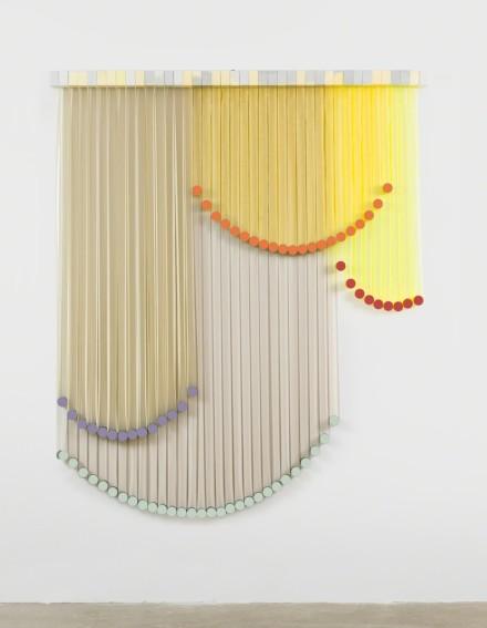 Eva LeWitt, Untitled (B9-A) (2018), via VI, VII