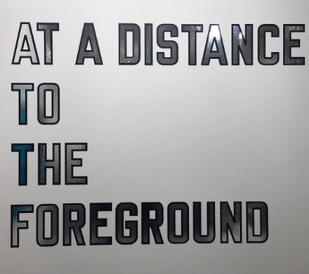 Lawrence Weiner at Marian Goodman