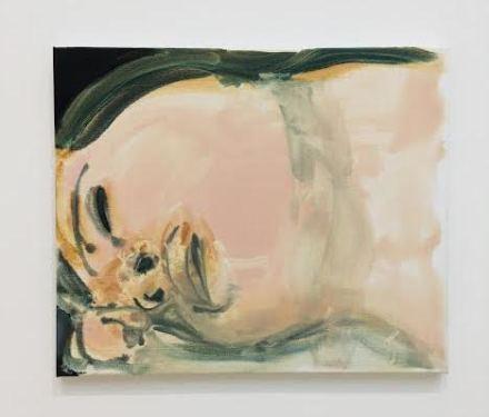 Marlene Dumas, Longing (2018), via Art Observed
