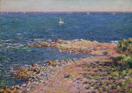 Claude Monet, La Méditerranée par vent de mistral (1888), via Sotheby's