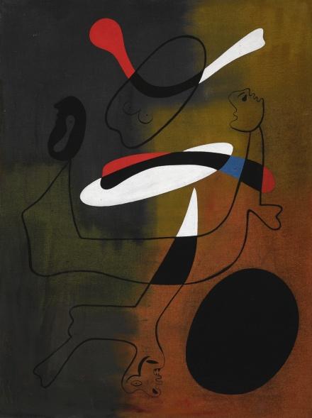 Joan Miro, Peinture (1933), via Sotheby's