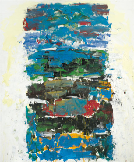 Joan Mitchell, Champs (1990), via Phillips