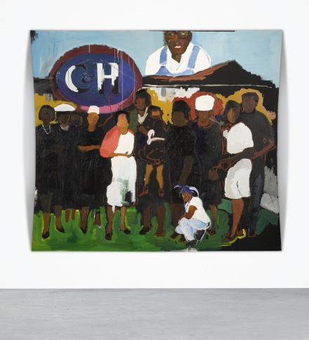 Henry Taylor, C and H (2006), via Sotheby's