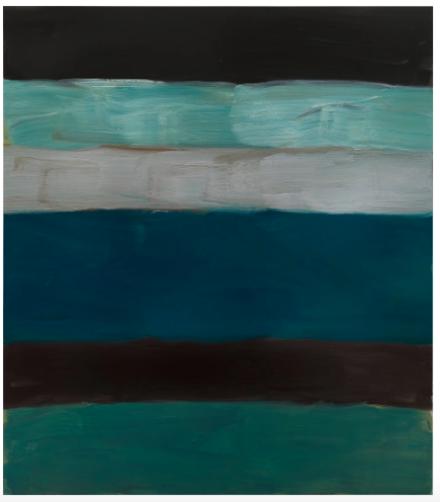 Sean Scully, Landline Green Sea (2014) final price: £1,209,000, via Phillips