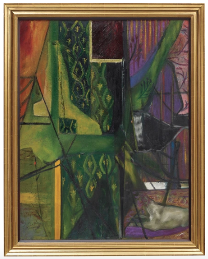 Francis Bacon, Interior of a room (1935) final price: £3,249,000, via Phillips