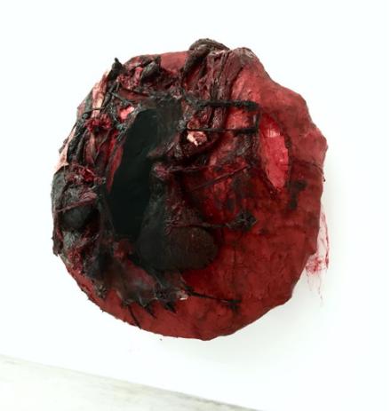 Anish Kapoor, Ritual Dark (2018), via Art Observed