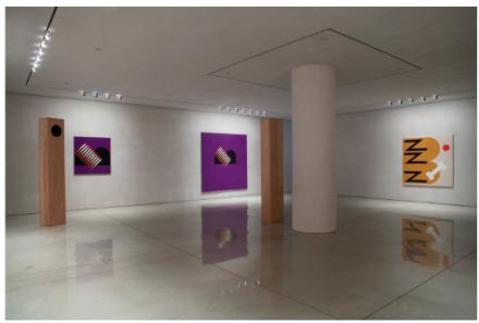 Math Bass, My Dear Dear Letter (Installation View), via Art Observed