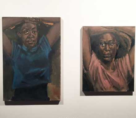 Lynette Yiadom-Boakye at Berlin Biennale, via Art Observed