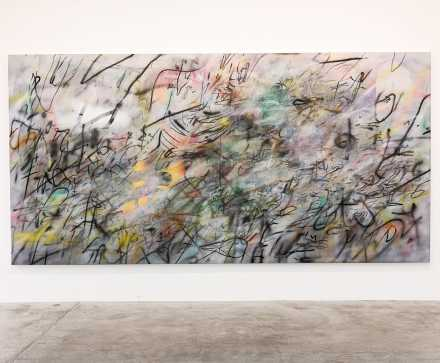 Julie Mehretu, A Love Supreme (2018), via Art Observed