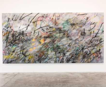 Julie Mehretu, A Love Supreme (2018), via Art Observed