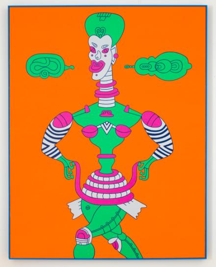 Karl Wirsum, Toot Toot Tutu Toodle-oo, (2013), via Matthew Marks