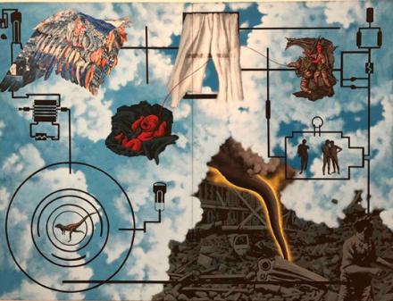 David Wojnarowicz, Wind (For Peter Hujar)(1987), via Art Observed