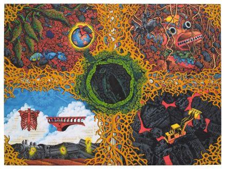 David Wojnarowicz, Earth (1987), via Whitney Museum