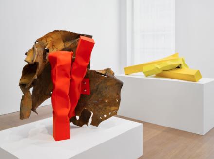Carol Bove (Installation View), via David Zwirner