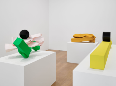 Carol Bove (Installation View), via David Zwirner