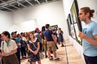 ACT UP at Whitney, via Art News