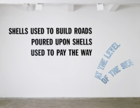 Lawrence Weiner, via Artforum