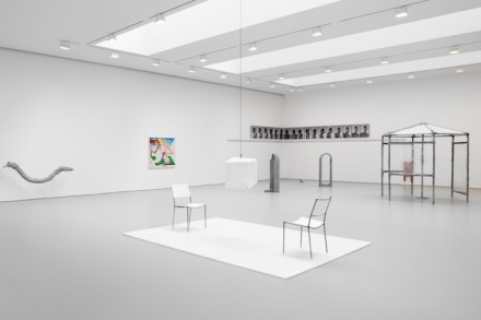 Installation view from This Is Not a Prop at David Zwirner