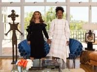 Tina Knowles and Kimberly Drew, via Vanity Fair