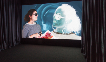 Tony Oursler, TC - The Most Interesting Man Alive (Installation View), via Lisson Gallery