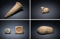 Items reurned to Iraq from British Museum, via NYT